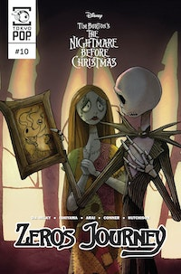 Disney Manga: Tim Burton's The Nightmare Before Christmas -- Zero's Journey Issue #10
