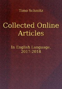 Collected Online Articles in English Language, 2017-2018